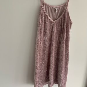 Pink small mini street wear dress